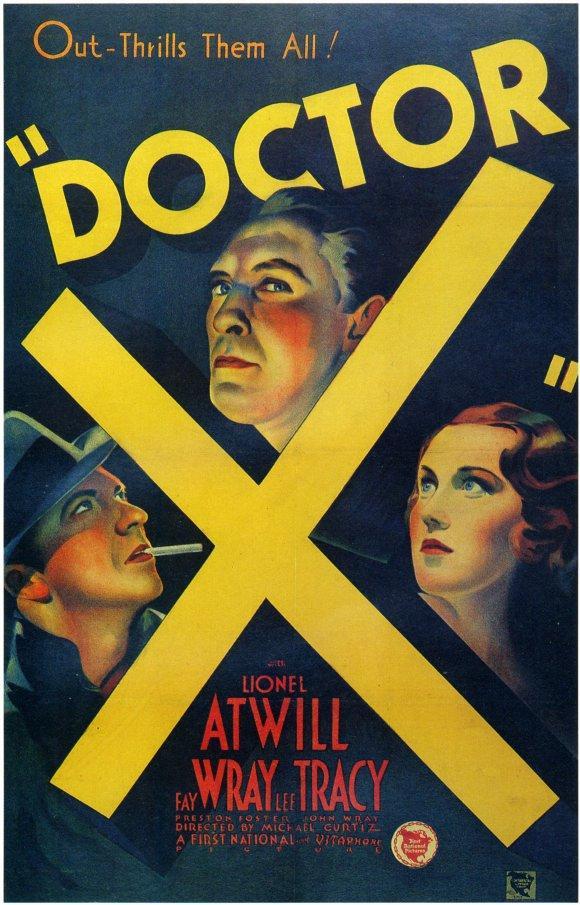 Monsters & Memories #8: Doctor X (1932) By Ed Davis