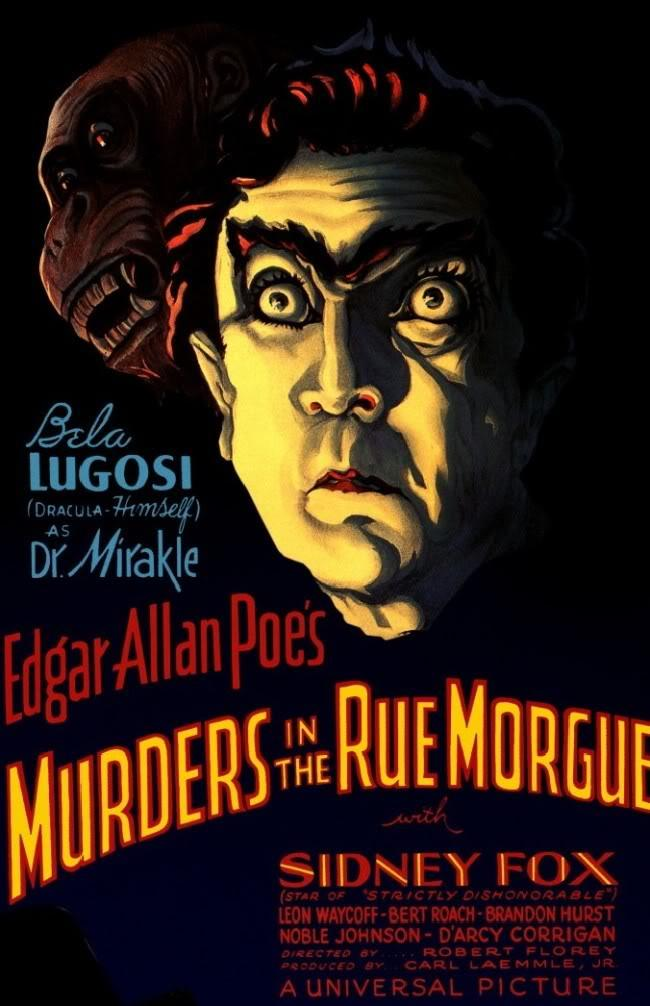 Monsters & Memories 14: Murders In The Rue Morgue (1932)  by Ed Davis