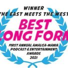 The East Meets the West is now an Award Winning Podcast!!!
